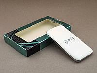 ✅ Качественный Powerbank HG908 Qi 10000мАч беспроводное зарядное устройство c дисплеем | AG390187