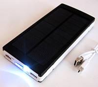 ✅ Супер подарок ! Power bank solar, 30000 mAh 2*USB, UF LED + зарядка от солнечной батареи  .   AG390192