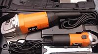 Угловая шлифмашина AEG WS21-230DMS+WS6-125°+KIT 2100Вт MTG