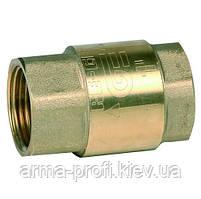 Обратный клапан пружинный Ду 20 Genebre 3121