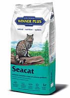 Полнорационный сухой корм для котов Winner Plus Seacat 10 кг (100051-2)
