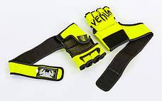 Перчатки для смешанных единоборств MMA FLEX VENUM ELITE NEO VL-5788 (XL, Салатовый), фото 3