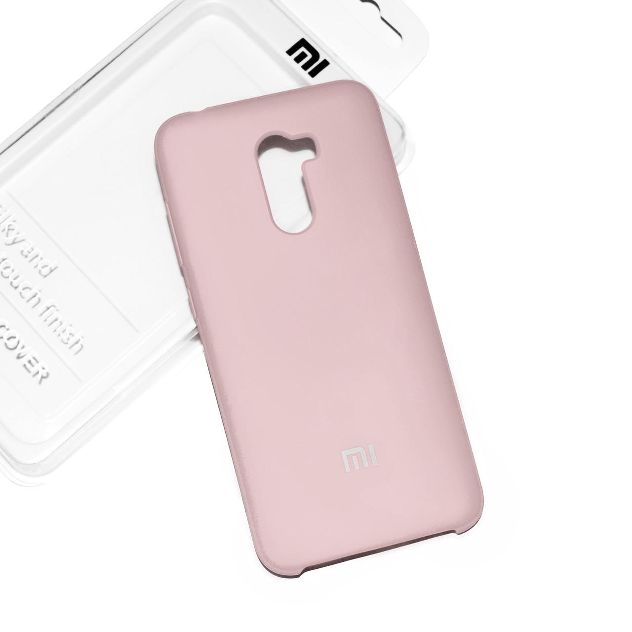 Силиконовый чехол на Xiaomi Pocophone F1 Soft-touch Nude