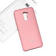 Силиконовый чехол на Xiaomi Pocophone F1 Soft-touch Pink