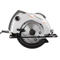 Пила дисковая 1300 Вт, 5000 об/мин, угол наклона 90-45° глубина распила 57/41 мм, диск 185*20 мм, Intertool