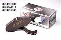 Тормозные колодки передние без датчика (система BOSCH) Mersedes Vito 638 (96-03 AUTO STANDART (Украина) AST022