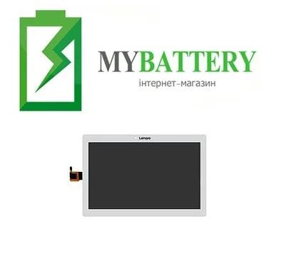 Дисплей (LCD) Lenovo A10-30 Tab 2 10.1/ A1030L/ X30L/ X30F с сенсором белый