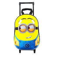 Оригинальный твердый 3Д рюкзак на тележке Миньон