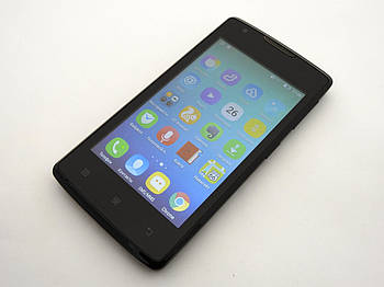 Lenovo A1000m Black Б.У. смартфон (PA490164UA) Гарантия (без крышки батареи)