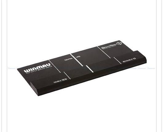Дартс отметка-линия для броска рельефная из МДФ (крепится на пол) Winmau, фото 2