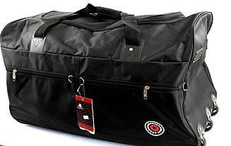 Большая дорожная сумка на колесах з ручкой AODASITE 2012