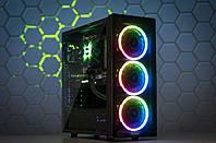 Игровой компьютер Зверь Intel Xeon e5 2667 / SSD 240Gb / 16Gb DDR4 / HDD 500Gb / RX 580