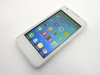 Lenovo A1000 White Б.У. смартфон (PA1R0019UA) Гарантия (без крышки батареи)