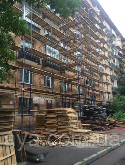 Леса строительные полимерное покрытие 16 х 21 (м)
