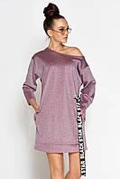 Женское короткое платье из люрекса (Эстер jd)