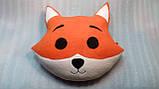 Игрушка-подушка ручной работы Лисенок, фото 3