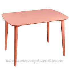 Стол Dan (Ден) 75x110 бежево-красный