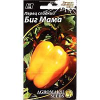 """Семена перца сладкого, раннего, желтого """"Биг мама"""" (0,2 г) от Agromaksi seeds"""
