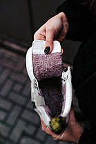 Женские зимние ботинки Dr. Martens Jadon Mono White Доктор Мартинс Жадон белые С МЕХОМ, фото 3