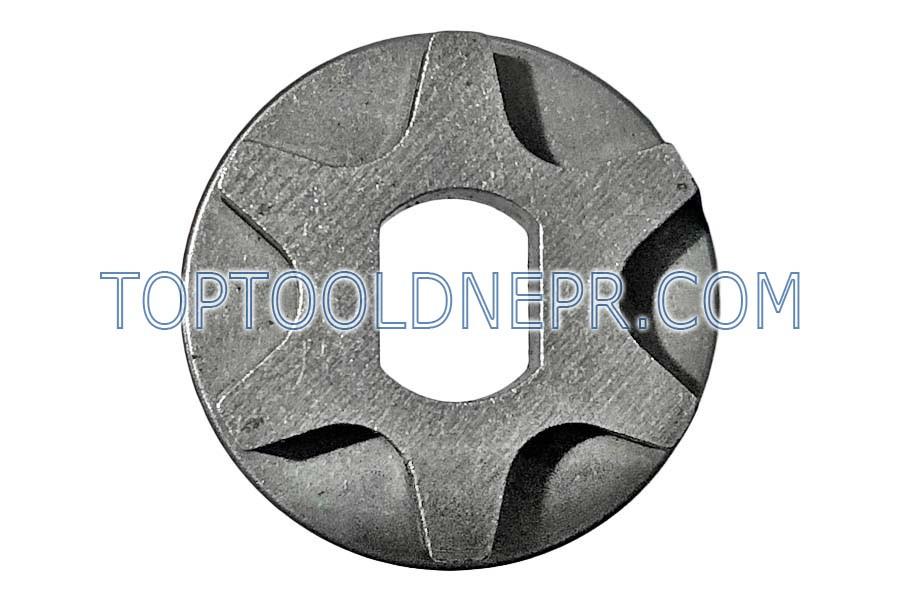 Звёздочка для электропилы 6 лучей тарелка овал 9*12мм d32 h8,5