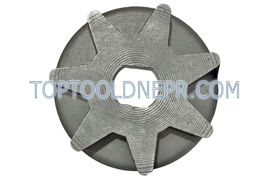 Звёздочка для электропилы 7 лучей тарелка овал 8*10 d36.3 h9.6