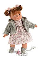 Кукла плачущая говорящая Alice Llorens 33 см