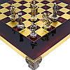 Шахматы «Римляне», красные,Греция,MANOPOULOS 28х28 см (088-0304S), фото 2