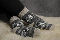 Теплые вязаные носочки, женские зимние носки, фото 1