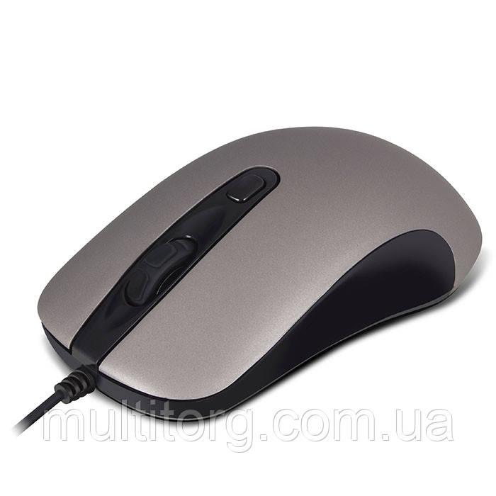 Мишка SVEN RX-515S безшумна USB, сіра