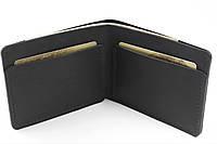 Кошелек Бифолд Kingsman кожаный B2 - Калифорния черный