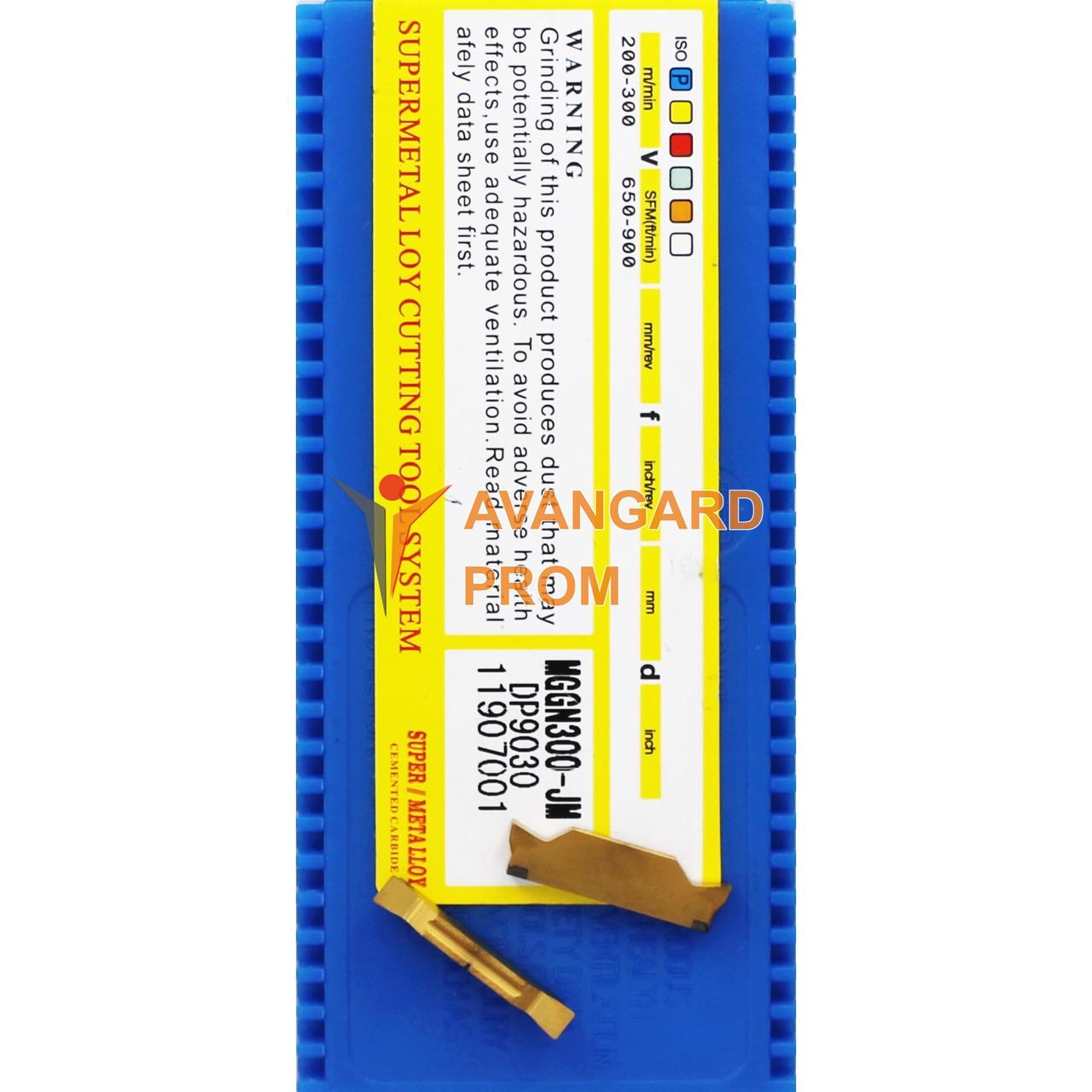 Пластина MGGN300-JM DP9030