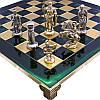 Шахматы «Римляне» Manopoulos, зеленые, 44х44 см (088-1102S), фото 2