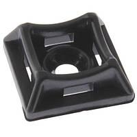 Площадка под дюбель для стяжки 20х20х7мм черная PROFIX Цена за 50 шт. (2020CH-BK)