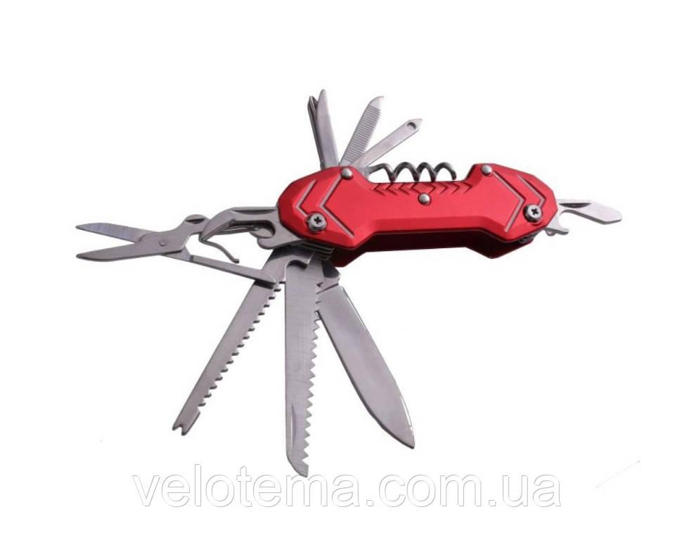 Нож универсальный многофункциональный мультитул для туризма