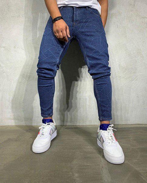 Мужские узкие стильные джинсы, Качество ЛЮКС