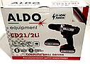 Аккумуляторный шуруповерт ALDO CD21/2Li, фото 4