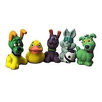 Игрушка для мелких собак CROCI ассорти в тубе, латекс., 9-10см