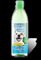 Добавка в воду Тропиклин с пребиотиками уход за полостью рта кошек Tropiclean Fresh Breath Oral Care