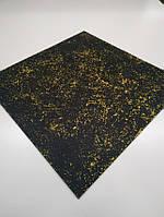 Резиновая плитка 1000-1000 мм.Толщина 6 мм. Celaksi Krip желтая., фото 1