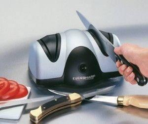 Электронная Заточка для ножей Lucky Home Electric Knife Sharpener, фото 2