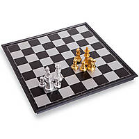 Шахи дорожні пластикові на магнітах, р-р 24,5x12,5х3,5см. (3810-A)