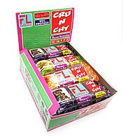 Упаковка батончиков FitLife Crunchy Bar Ассорти 12 шт х 50 г