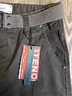 Джинси чоловічі ITENO (Tophero) оригінал р. 36 прямі коричневі весна/осінь (є інші кольори), фото 5