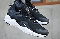 Кроссовки Nike Huarache мужские. Плотная ткань/текстиль, подошва ЭВА. Черные SP-1236