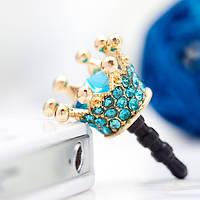 Голубая Корона на телефон Кристалл