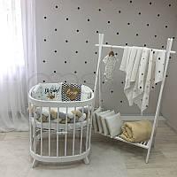 "Комплект в ліжечко з серії ART Design ""Oh, baby"" золотий"