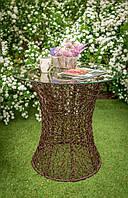 Стол для сада из ротанга Лайт Коричневый