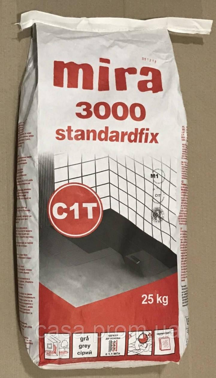 Клей для плитки mira 3000 25 кг в Днепре
