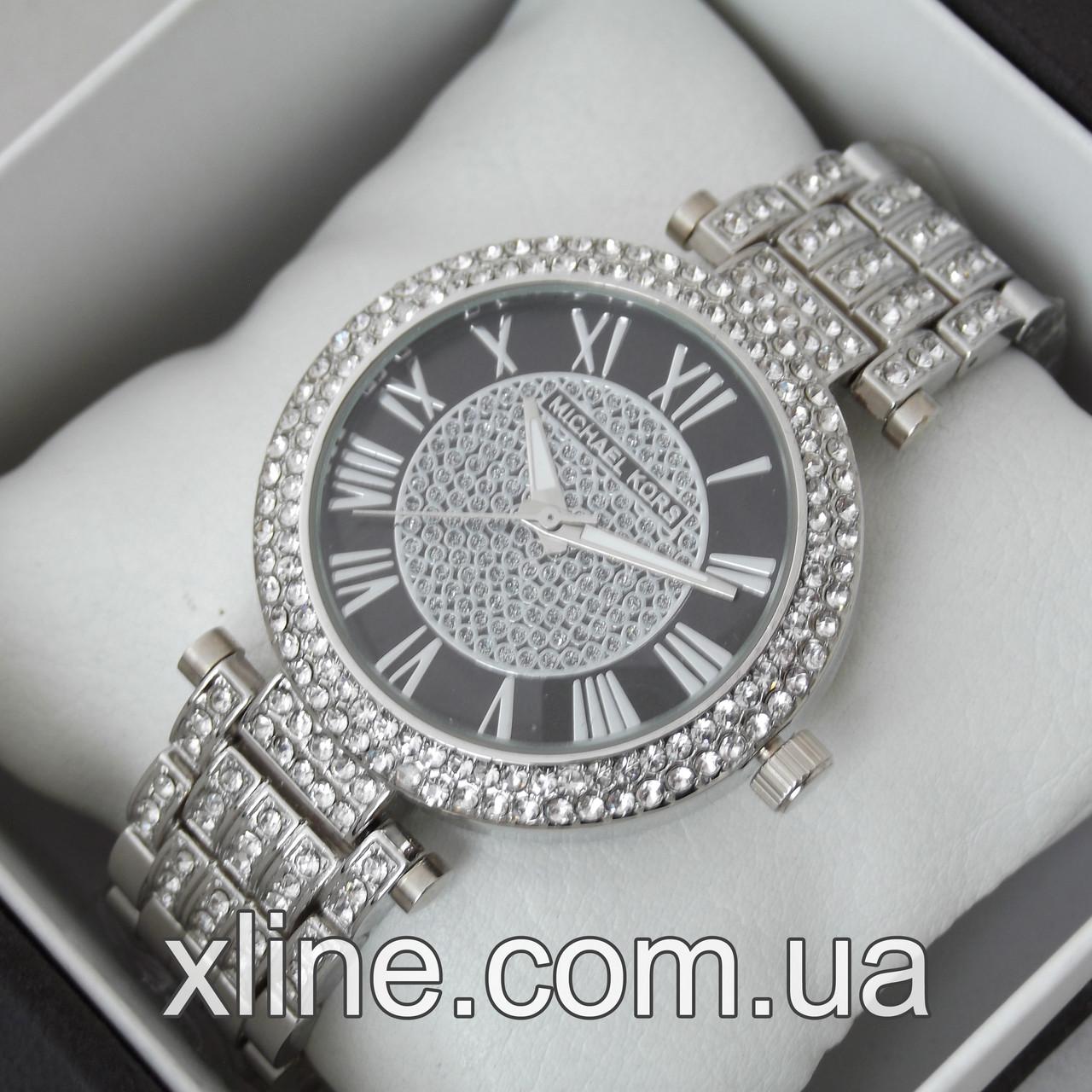 Жіночі наручні годинники Michael Kors MK-160 на металевому браслеті