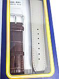 Ремешок  для часов JN 22мм коричневый опт, фото 3